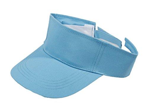 Fletion Damen Herren Unisex Adult Outdoor-Sportarten Sonnenblende justierbarer Hut Laufen Tennis Golf-Kappe EINWEG Verpackung