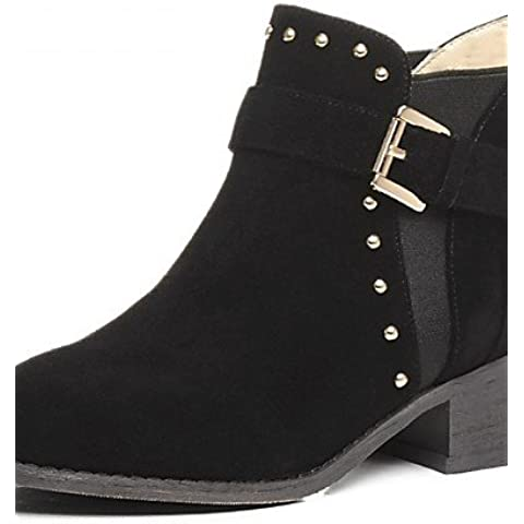Donna stivali Primavera / Autunno / WinterHeels / Piattaforma / Cowboy / Western Stivali / Snow Boots,Black,US5.5 / EU36 / UK3.5 / CN35