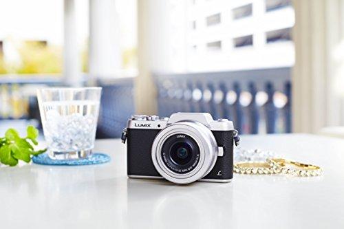 Panasonic LUMIX G DMC-GF7KEG-S Systemkamera (16 Megapixel, High-Speed Autofokus, 3 Zoll Touch-Display, WiFi und NFC) mit Objektiv H-FS12032E schwarz/silber - 7