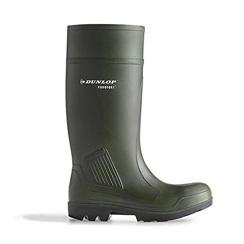 Stivali da lavoro Dunlop Purofort professionale completa sicurezza verde scuro S5 C462933 Nero(Black)