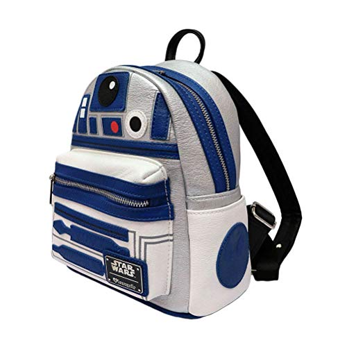 Offizieller Star Wars Loungefly R2-D2 Mini-Rucksack