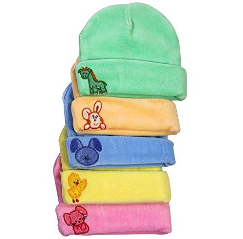 Brim Hugs And Cuddles Velour Caps for ...