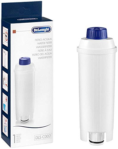 De\'Longhi DLSC002 Filtro agua antical, para cafeteras superautomáticas, original, compatible modelos ECAM / ETAM,  2 meses duración