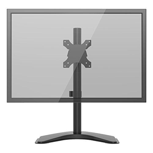 """1home Singolo Braccio Supporto da Tavolo Scrivania con Base Installa per LCD LED Monitore Lo Schermo di TV da 13""""-27"""""""