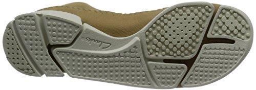 Clarks Trigenic Flex, Sneakers Basses Femme Beige (Maple)