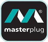 Masterplug Four Socket Extension Lead, 5 Metre, 13 Amp, White