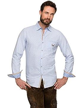 Stockerpoint Trachtenhemd Jesse blue