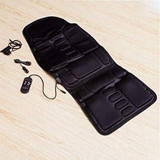 Auto Stuhl Home Sitz Wärmekissen Nacken Taille Körper elektrischer Stuhl Massage (Farbe: schwarz) (Größe :)