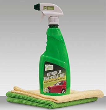 Green Duck Waterless Car Wash Kit (500 Ml + 2 Microfiber Towels)