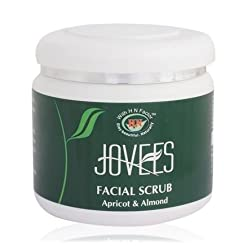 Jovees Facial Scrub, Apricot and Almond, 400g