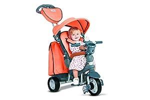 SMARTRIKE Naranja Smart Trike Trike Inteligente - Triciclo Explorer - hasta 10 36 Meses - Bonito Regalo