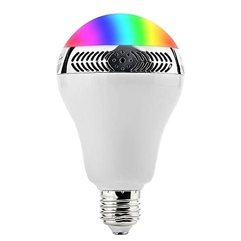 GRDE Bluetooth 4.0 Smart-App Ampoule led Standard Culot E27 avec
