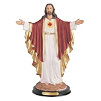 George S. Chen Imports Sacred Heart Of Jesus Holy Figurine Religious Decor, 12""