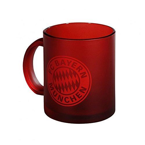 FC Bayern München Glastasse , Größe:one size;Farbe:rot