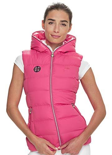 SPOOKS Damen Weste leichte Damenweste Steppweste - Justin Vest Pink L