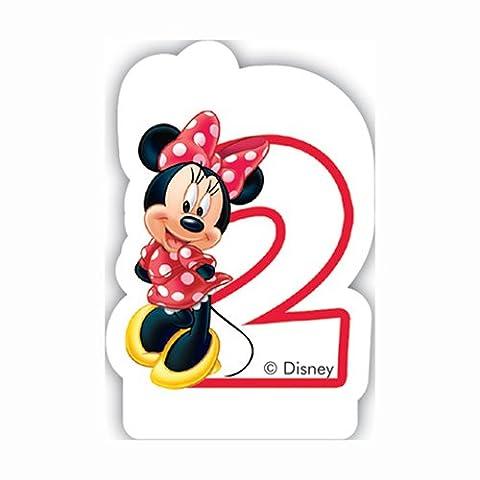 Café Disney Minnie Mouse 2nd Bougie d'anniversaire