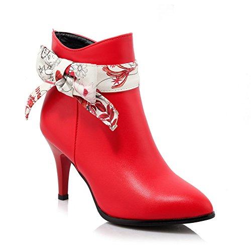 Balamasa - Sandales Compensées Pour Femmes Rouge