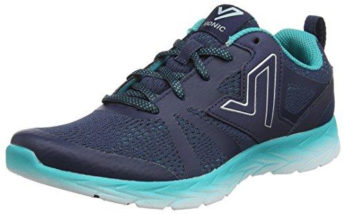 Teal Womens Schuhe (Vionic Womens Brisk Miles Blue Teal Mesh Trainers 41 EU)