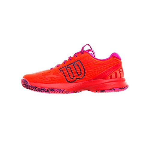 Wilson Damen Wrs322510e055 Tennisschuhe, Orange (Fiery Coral/Fiery Red/Rose Violet), 39 EU