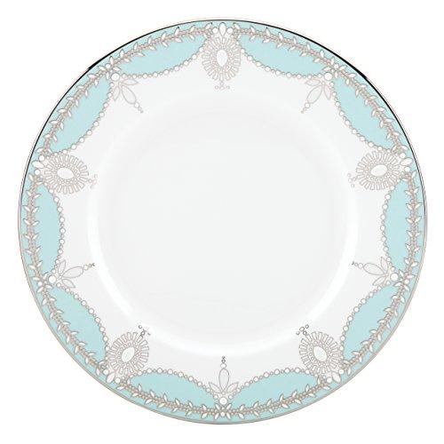 Lenox Marchesa Empire Pearl Salad Plate, Turquoise Lenox Marchesa Empire Pearl