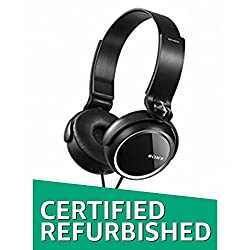 (Certified Refurbished) Sony MDR-XB250 Wired On-Ear Headphone (Black)
