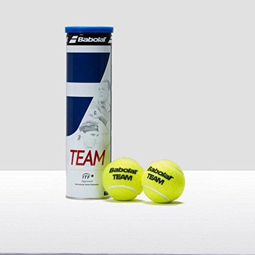 Babolat Tennisbälle Team 4er Dose Pelota de Tenis