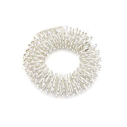 Man9Han1Qxi Handmassage Ring Männer Frauen Handgelenk Band Entspannen Akupunktur Gesundheitswesen Armband - Silber