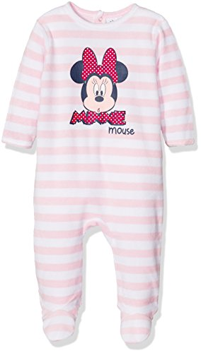 Disney Baby Minnie Maus Strampler Langarm (86 cm (23 Monate) Rosa)