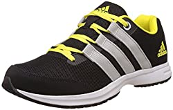 adidas Mens Ezar 3.0 M Cblack, Shoyel and Silvmt Running Shoes - 6 UK/India (39.3 EU)