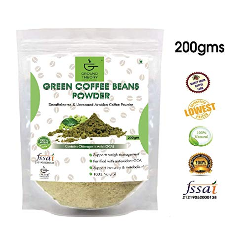 Ground Theory Green Coffee Powder for Weight Loss 200 gms