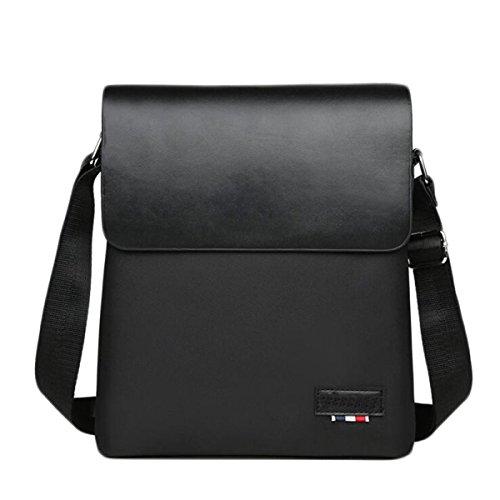 Uomini Oxford Tablet Borsa A Tracolla Messenger Zaino Valigetta Settore Fieristico Affari Black