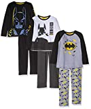 FABTASTICS Batman Jungen Zweiteiliger Schlafanzug 3er Pack (Mehrfarbig), 104, 3er-Pack