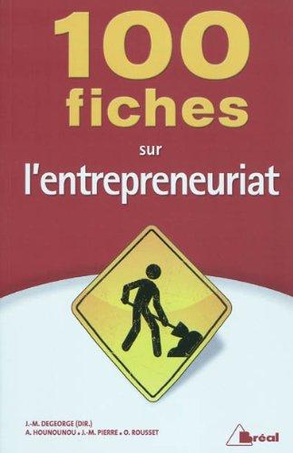 100 fiches sur l'entrepreneuriat