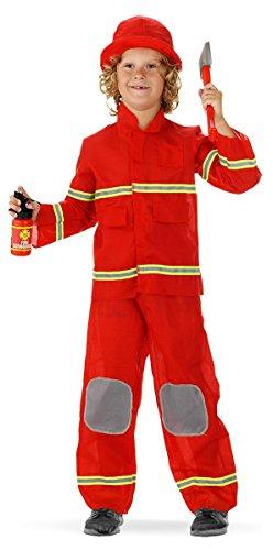 Preisvergleich Produktbild Folat 21878 - Feuer dreiteiligen Anzug,  Kinder Größe S