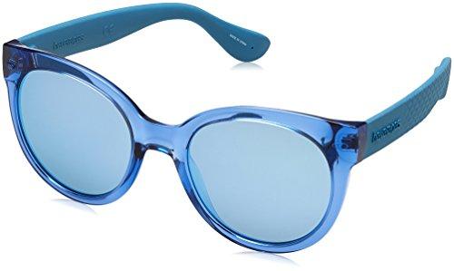 Havaianas Sunglasses Mujer Noronha Gafas de sol, Azul (Blue Aqua), 52