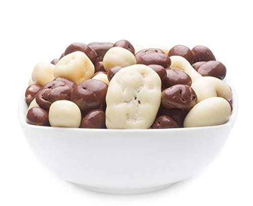 CrackersCompany \'Yoghurt & Chocolate Mix\' (1 x 700g in ZIP Beutel) Nuss und Rosinen Mix in Joghurtschoko - Schokonuss & Schokorosinen mit Joghurt