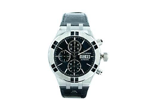Reloj Automático Maurice Lacroix Aikon Chronograph, 44 mm, AI6038-SS001-330-1