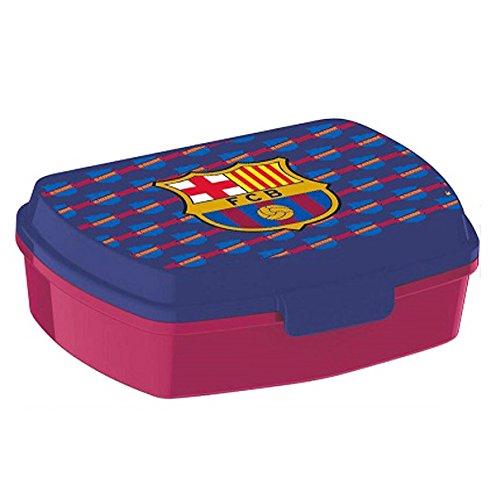 FC Barcelona Brotdose, blau