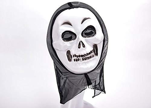 qianqian QIAN Halloween Horreur Masque Effrayé Crier Festival Fantôme Grimace Fête Blister Masque Créatif,B