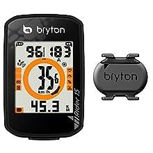 Bryton Rider 15C avec capteur de Cadence, Noir, Taille Unique