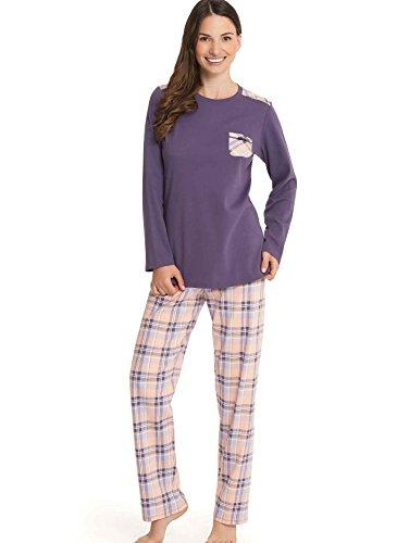 Calida - Ensemble de pyjama - Femme Violet Violet Violet - Purple - 288 loganberry