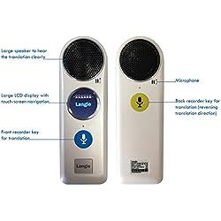 LEXIBOOK Langie-Traductor Vocal Inteligente de 52 Idiomas