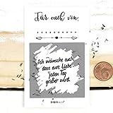Geschenk für Brautpaar, Rubbellos 25 Stück, Rubbelkarten, Wünsche zur Hochzeit, Überraschung, Weiß
