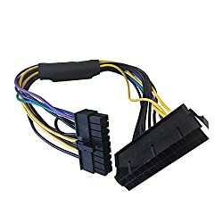 GCDN 11 inch 24 Pin to 18 Pin Power Supply Adapter for HP Z420 Z620 Z230 Workstations