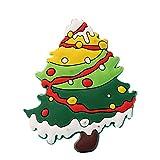 Hilai Cute Cartoon Christmas Tree Stereo Magneti frigo per i Bambini attività Home Decoration Un Insieme di 1 Pezzi