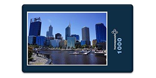 Preisvergleich Produktbild hansepuzzle 13012 Gebäude - Perth, 1000 Teile in hochwertiger Kartonbox, Puzzle-Teile in wiederverschliessbarem Beutel