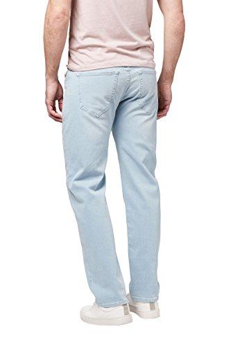 next Herren Jeans Straight Fit Gebleicht