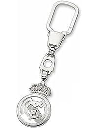 Llavero escudo Real Madrid Plata de ley calado [6819] - Modelo: 30-056
