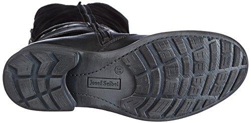 Josef Seibel Schuhfabrik GmbH  Sandra 17, Bottes Classics, doublure chaude femme Noir - Gris foncé