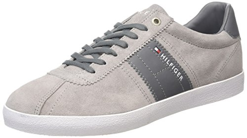 Tommy Hilfiger P2285layoff 1b, Baskets Basses homme Gris - Grau (LIGHT GREY 051)